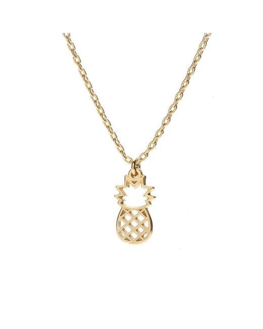 Bing Bang - Metallic Pineapple Necklace - Lyst
