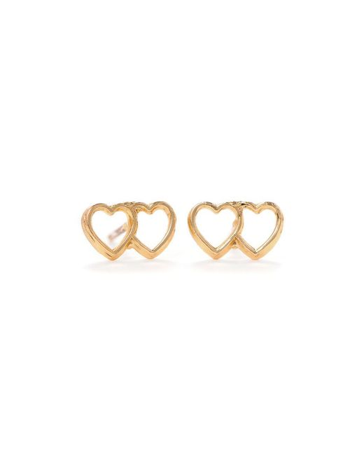 Bing Bang - Yellow Loved Up Studs - Lyst