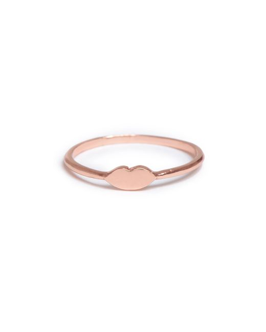 Bing Bang - Pink Kiss Ring - Lyst