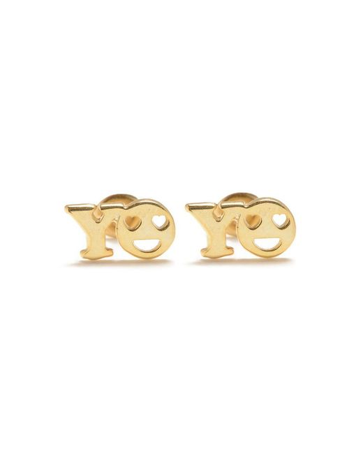 Bing Bang | Metallic Yo Studs | Lyst