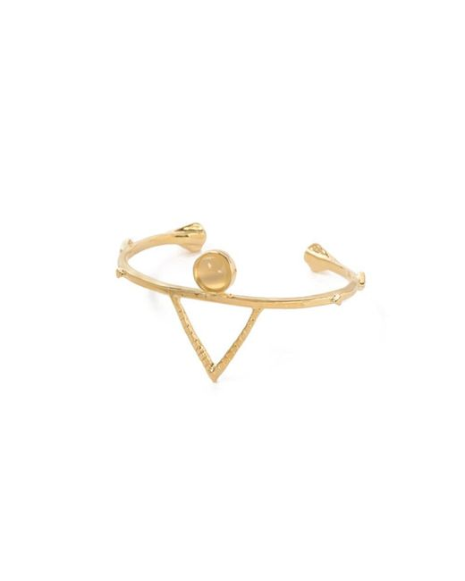 Bing Bang | Metallic Temple Amulet Cuff | Lyst