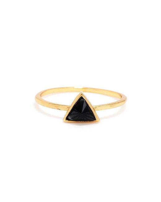 Bing Bang - Yellow Delta Bezel Ring - Lyst