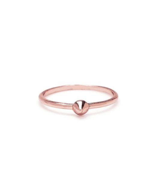Bing Bang | Pink Tiny Vivienne Ring | Lyst