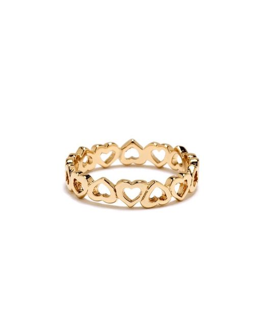 Bing Bang - Yellow Eternity Heart Ring - Lyst