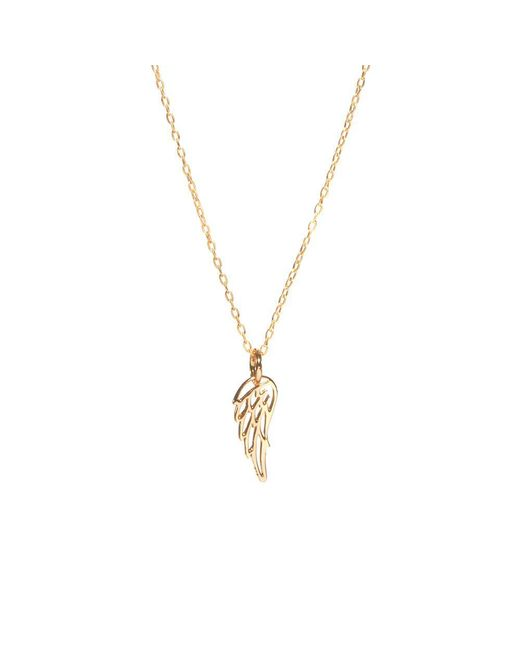 Bing Bang - Metallic Wing Necklace - Lyst