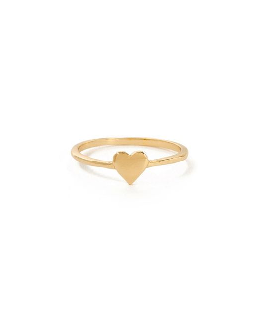 Bing Bang | Yellow Heart Ring | Lyst