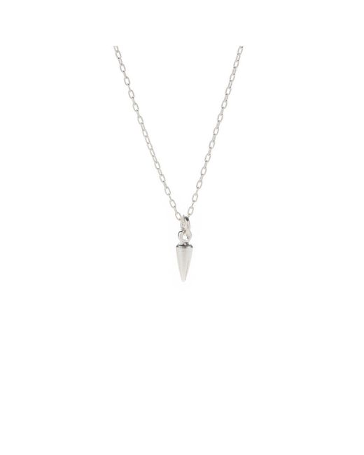 Bing Bang - Pink Tiny Bullet Necklace - Lyst
