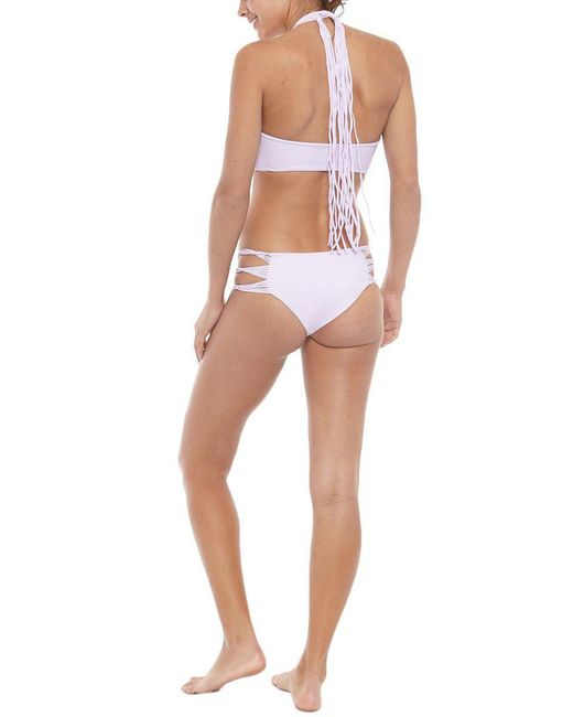 Mikoh Swimwear | Purple Velzyland Bottom | Lyst