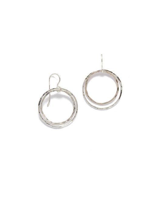 SIMONE JEANETTE - Metallic Zoe Earrings - Lyst
