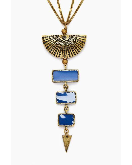 Vanessa Mooney - Metallic The Mina Necklace - Gold - Lyst