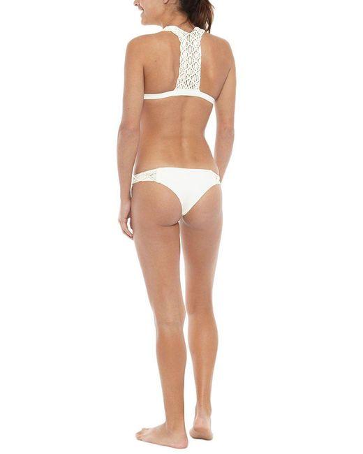 Mikoh Swimwear - Natural Cayman Bottom - Lyst