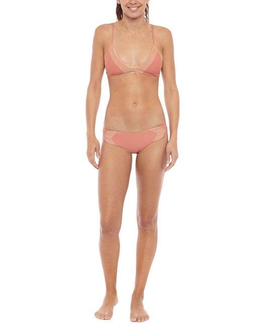 Acacia Swimwear | Pink Pupukea Lycra Bikini Top | Lyst