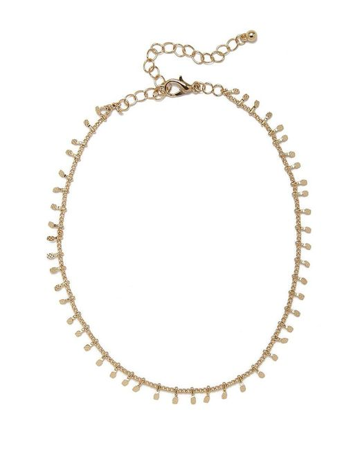JEWEL CULT - Metallic Lita Dainty Gold Choker - Lyst