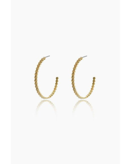 Luv Aj - Metallic The Oversized Quartz Stud Hoop Earrings - Gold - Lyst
