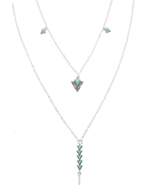 Electric Picks - Metallic Just Breathe Necklace - Lyst