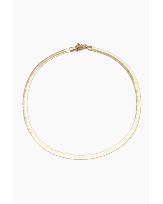 Vanessa Mooney - Metallic The Ghostface Chain Necklace - Gold - Lyst