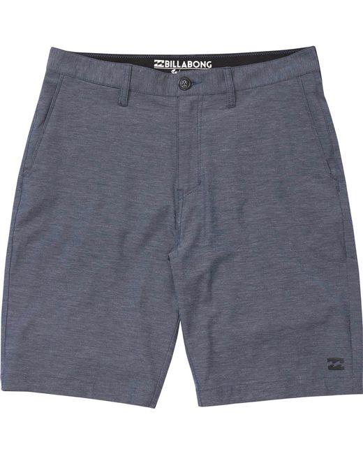 Billabong - Blue Crossfire X Submersibles Shorts for Men - Lyst