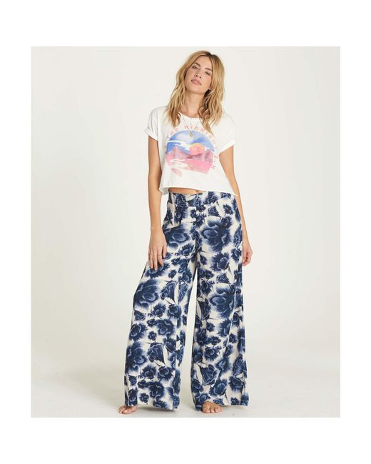 Billabong | Blue Midnight Kiss Pant | Lyst