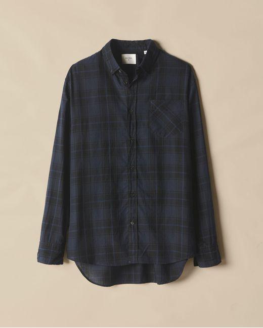 Billy Reid | Blue Wallace Shirt for Men | Lyst