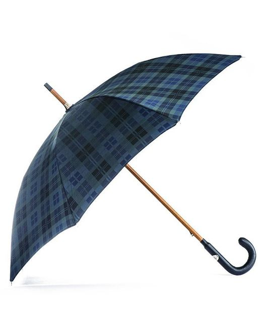 Black.co.uk | Blue Black Watch Tartan Luxury Umbrella | Lyst