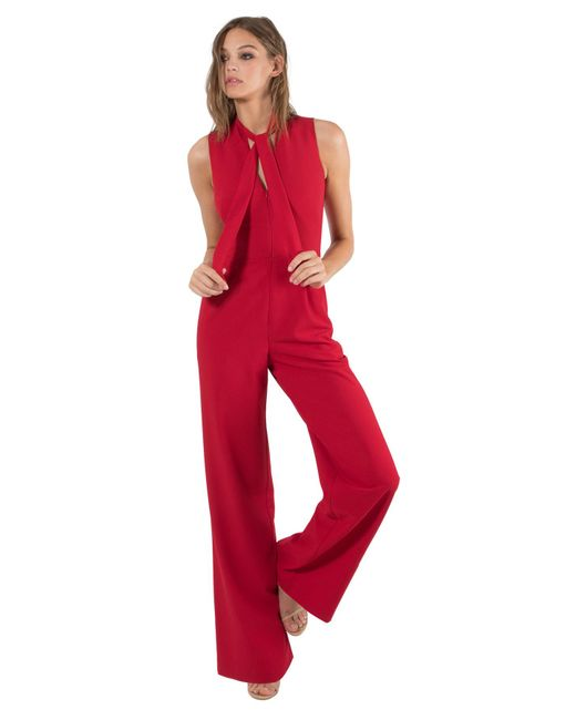 Black Halo - Red Carolina Jumpsuit - Lyst
