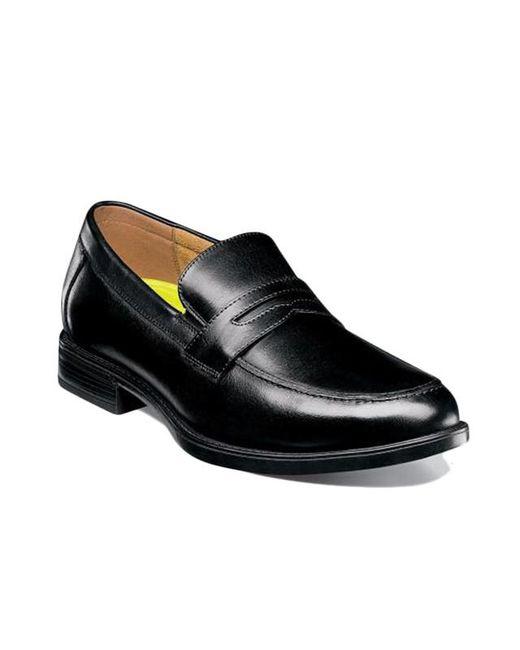 43fe7c5ce62 ... Florsheim - Black Midtown Moc Toe Penny Loafer for Men - Lyst ...