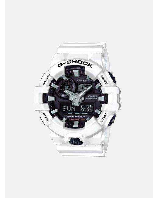 G-Shock - White Ga-700 Series for Men - Lyst