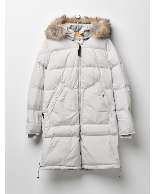 Parajumpers - Gray Women Long Bear Light 773 Silver-grey - Lyst ...