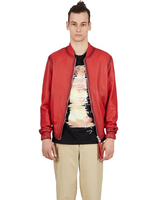Blood Brother | Guard Bomber In Red for Men | Lyst