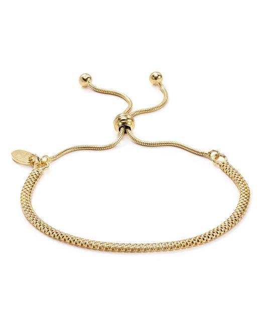 Argento Vivo - Metallic Mesh Chain Adjustable Bracelet - Lyst