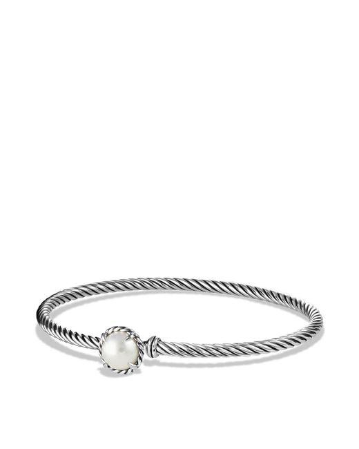 David Yurman - White Châtelaine Bracelet With Pearls - Lyst