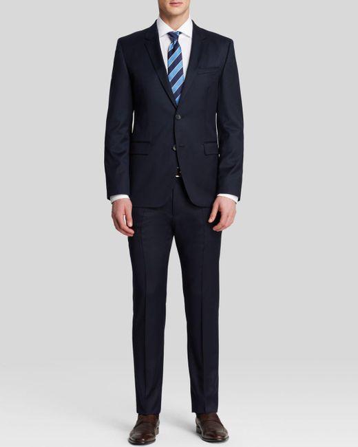 HUGO - Blue Aeron/hamen Slim Fit Suit for Men - Lyst