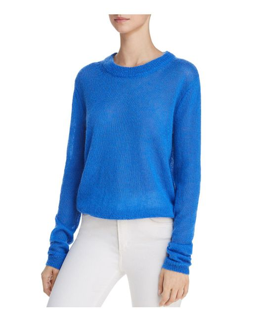 Elizabeth and James - Blue Rosalie Crewneck Sweater - Lyst