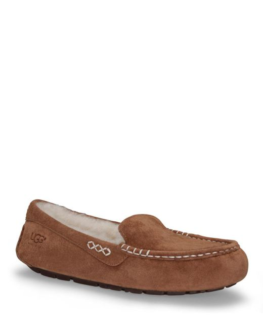 Ugg - Brown Slippers - Ansley - Lyst