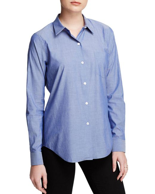Theory - Blue Shirt - Perfect Icon - Lyst