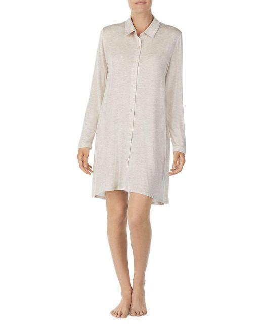Donna Karan - Multicolor Short Sleepshirt - Lyst