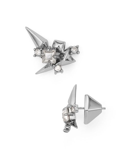 Alexis Bittar   Metallic Cluster Ear Climbers   Lyst