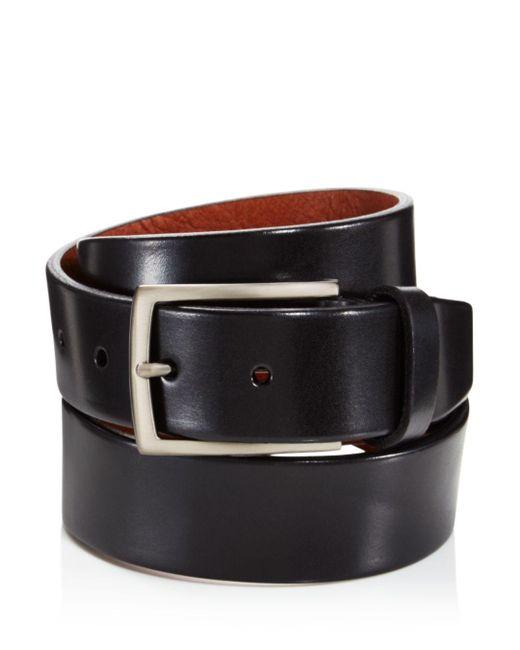 Trafalgar - Black Men's Enrico Leather Belt for Men - Lyst