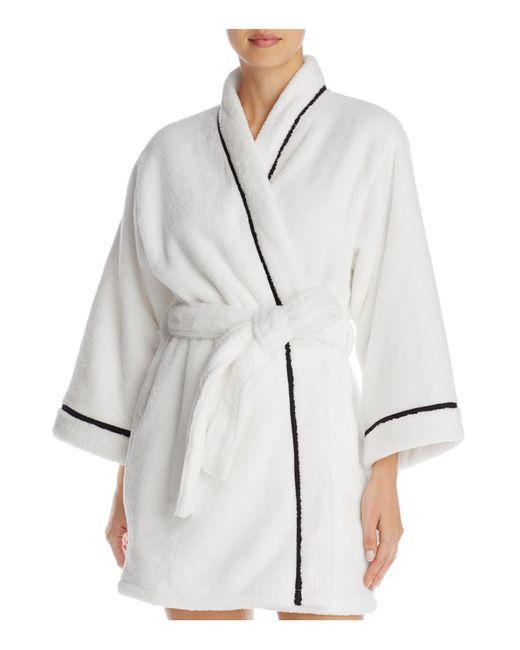 Kate Spade | White Short Wrap Robe | Lyst