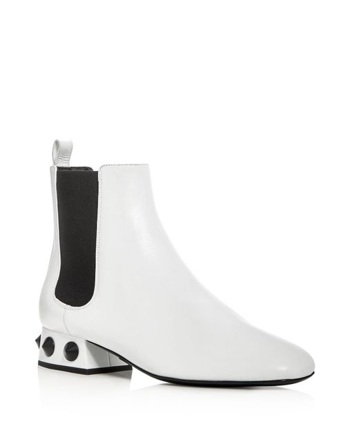 Michael Kors | White Collection Park Chelsea Booties | Lyst