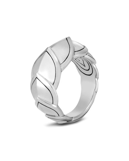 John Hardy - Metallic Sterling Silver Legends Naga Small Ring - Lyst