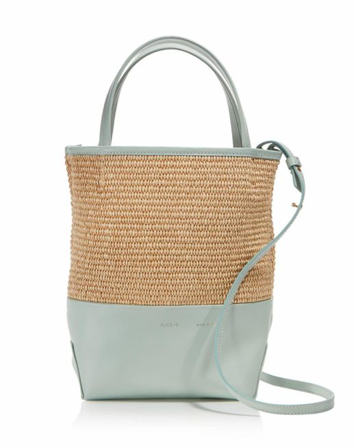Alice.D - Multicolor Small Leather Tote - Lyst