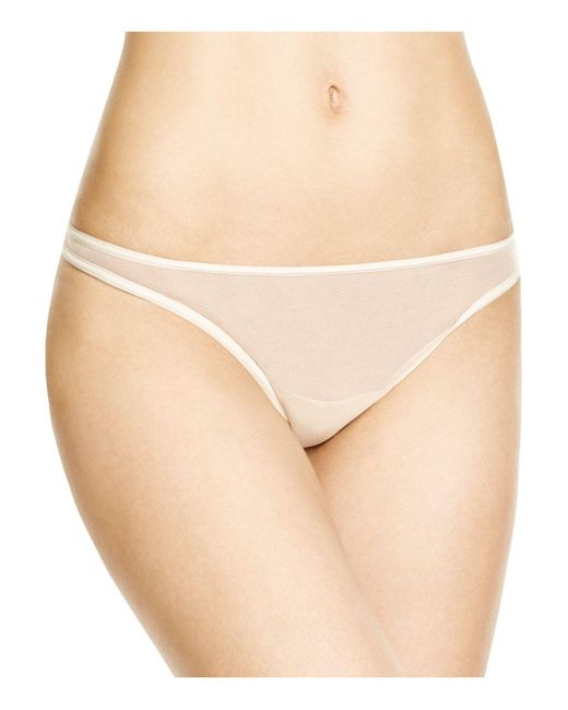 Cosabella | Natural Soire New Classic Low-rise Thong | Lyst