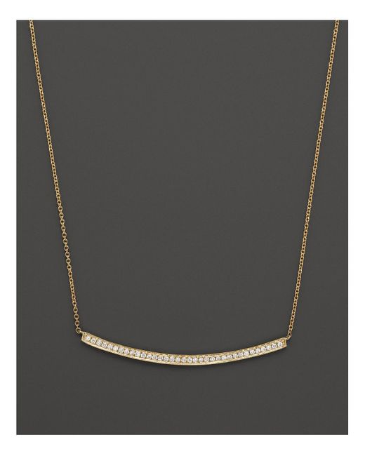 Dana Rebecca | 14k Yellow Gold & Diamond Sylvie Rose Long Necklace, 17"