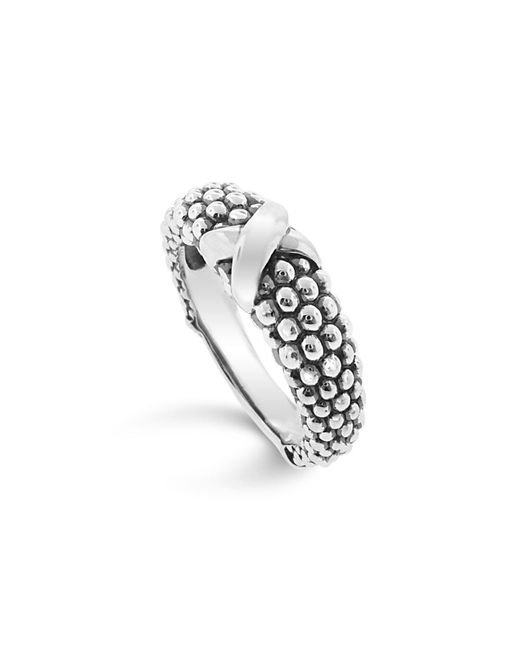 Lagos | Metallic Women's Caviar Ring | Lyst
