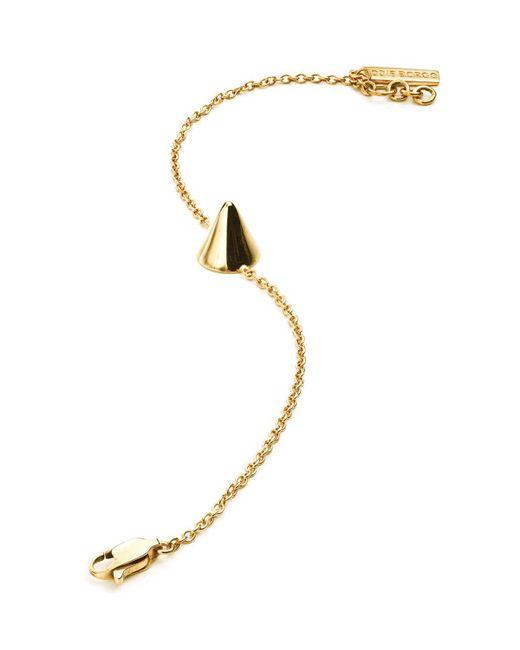 Eddie Borgo   Metallic Single Cone Bracelet   Lyst