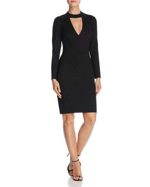 Adelyn Rae - Black Laila Knit Body-con Dress - Lyst