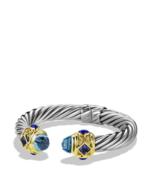 David Yurman   Blue Iolite & Gold   Lyst