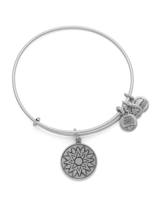 ALEX AND ANI | Metallic New Beginnings Expandable Wire Bangle, Charity By Design Collection | Lyst