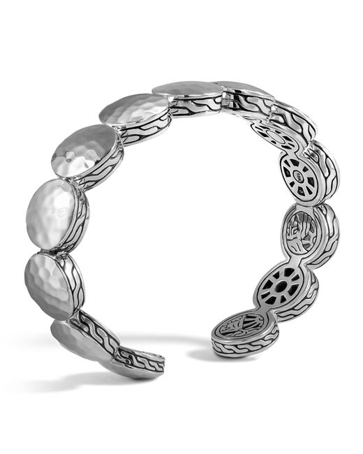 John Hardy | Metallic Palu Sterling Silver Flex Cuff | Lyst